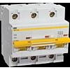 Автоматический выключатель ВА47-100 3Р 10А D 10кА