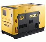 Сверхбесшумные генераторные установки Kipor