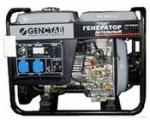 Дизельный генератор GENCTAB GSDG-5000CLE/W