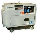 Дизельный генератор GENCTAB GSDG-6000SATS, малошумный