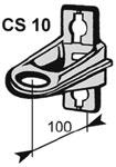 Кронштейн CS 10-3, CS 10-2000