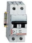 Автоматический выключатель DX 2p 13A 2М (тип C) 6кА
