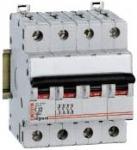 Автоматический выключатель 4p 4A 4М (тип D)