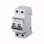 Автоматический выключатель S202 C1 2p 1A 6kA (тип C)