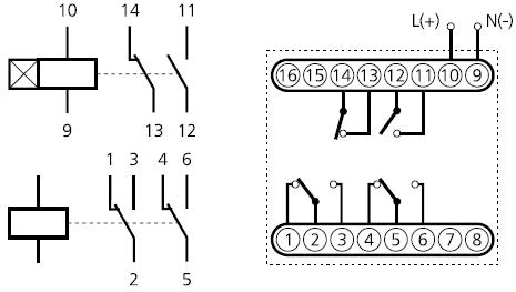 подключение ВЛ-73Н, 2