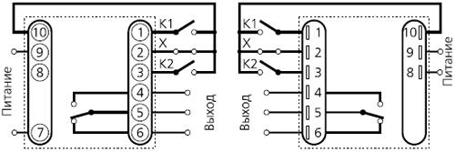 подключение ВЛ-54 в режиме реле времени