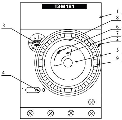 структура ТЭМ181
