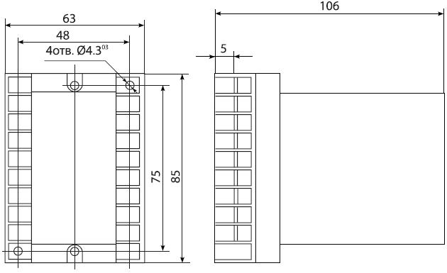 габариты РСТ-40