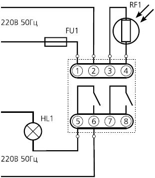 подключение ФР-7Н