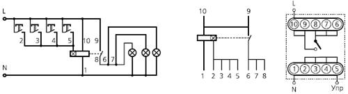 схема подключения вл-31м