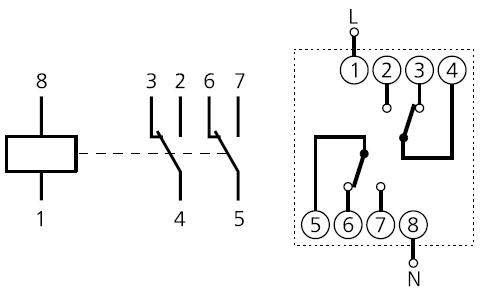 подключение ВЛ-55E1