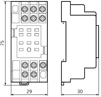 подключение РП53, РП54