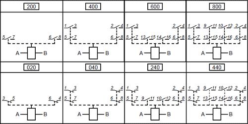 Электрическая схема реле РПУ-