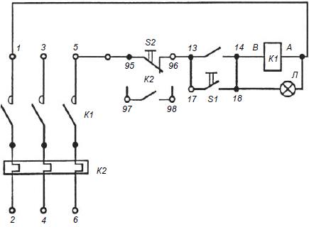 электрическая схема ПМЛ