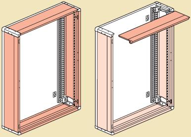 съемные боковые панели монтаж xl3 400 металл