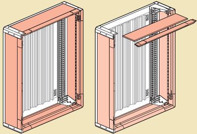 боковые панели монтаж xl3 400 изолирующий