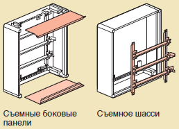 принцип монтажа xl3 160 металлического