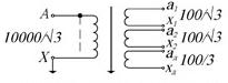 Принципиальная электрическая схема трансформатора ЗНОЛ.06-10-4