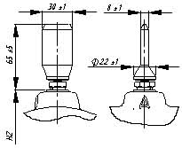 Исполнение высоковольтного вывода трансформаторов ЗНОЛ для токопроводов