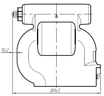 Общий вид трансформатора напряжения ЗНОЛПМИ