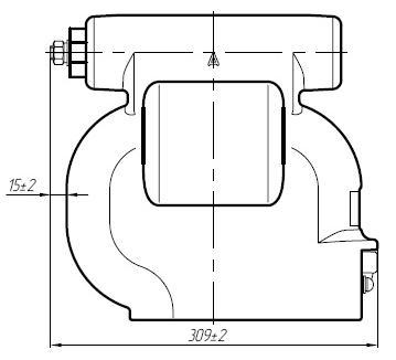 Общий вид трансформатора ЗНОЛПМ(И)
