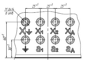 Клеммник трансформаторов ЗНОЛЭ-35 III-4, ЗНОЛЭ-35-4