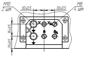 Клеммник трансформатора напряжения ЗНОЛ-35 III