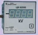 Щитовые цифровые измерительные прелбразователи напряжения переменного тока ЦВ 9255