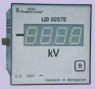 Щитовые цифровые измерительные преобразователи напряжения постоянного тока ЦВ 9257