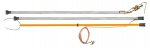 Заземления штанговые с металлическими звеньями ЗПЛШМ-110-220