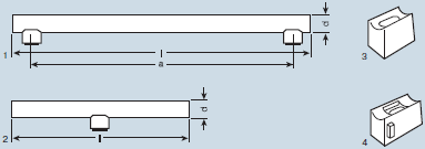 габаритные характеристики Osram Special Linestra