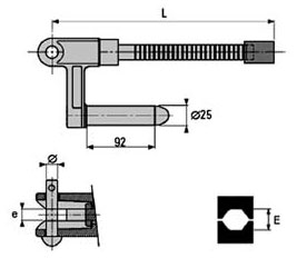 габаритные характеристики AB G28