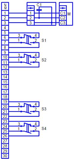 электрическая схема мэо 250 с