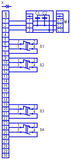 электрическая схема мэо 02 с