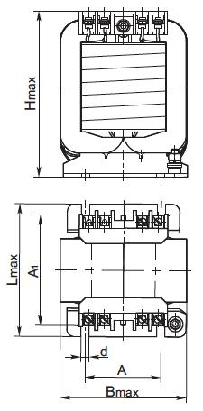 габариты трансформатора осм1 1