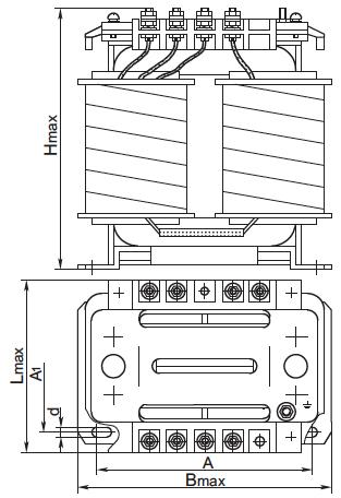 габариты трансформатора осм1 2