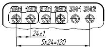 Вторичные контанты трансформатора ТОЛ-10-I-7