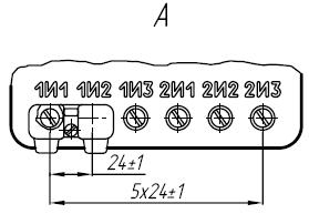 Вторичные контанты трансформатора ТОЛ-10-I-14