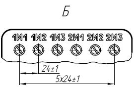 Вторичные контанты трансформатора ТОЛ-10-I-15
