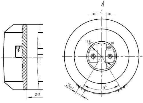 Общий вид трансформатора ТШЛ-10-1 и ТШЛП-10-1
