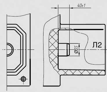 Общий вид трансформатора ТПЛ-10-М-4