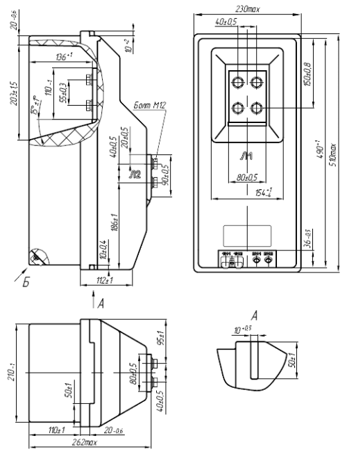 Общий вид трансформаторов ТПЛК-10