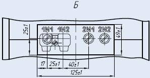 Вторичные контакты трансформатора ТПЛК-10