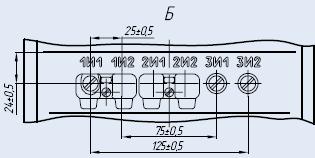 Вторичные контакты трансформатора ТПЛК-10-1