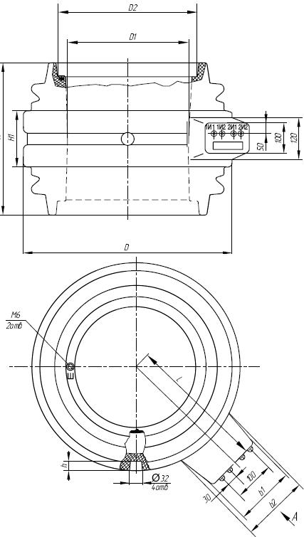 Общий вид трансформаторов ТШЛ-20-I