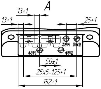 Вторичные контакты трансформатора ТЛК-35-2