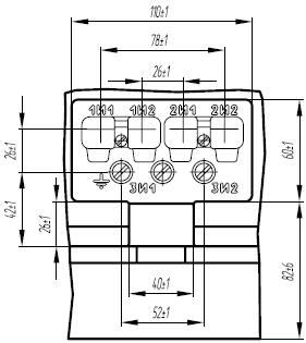 Клеммная коробка трансформатора ТОЛ-35 III-II, ТОЛ-35 III-III