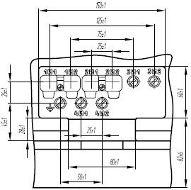 Клеммная коробка трансформатора ТОЛ-35 III-V-4