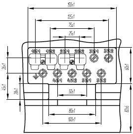 Клеммная коробка трансформатора ТОЛ-35 III-V-5
