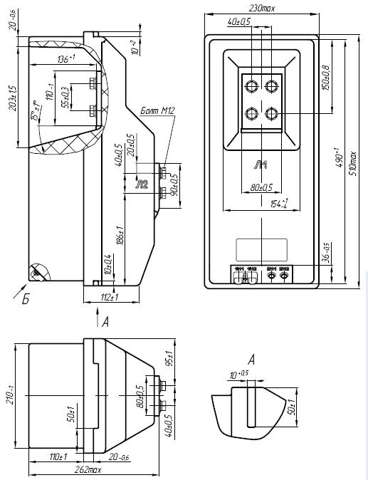 Общий вид трансформатора ТПЛК-10